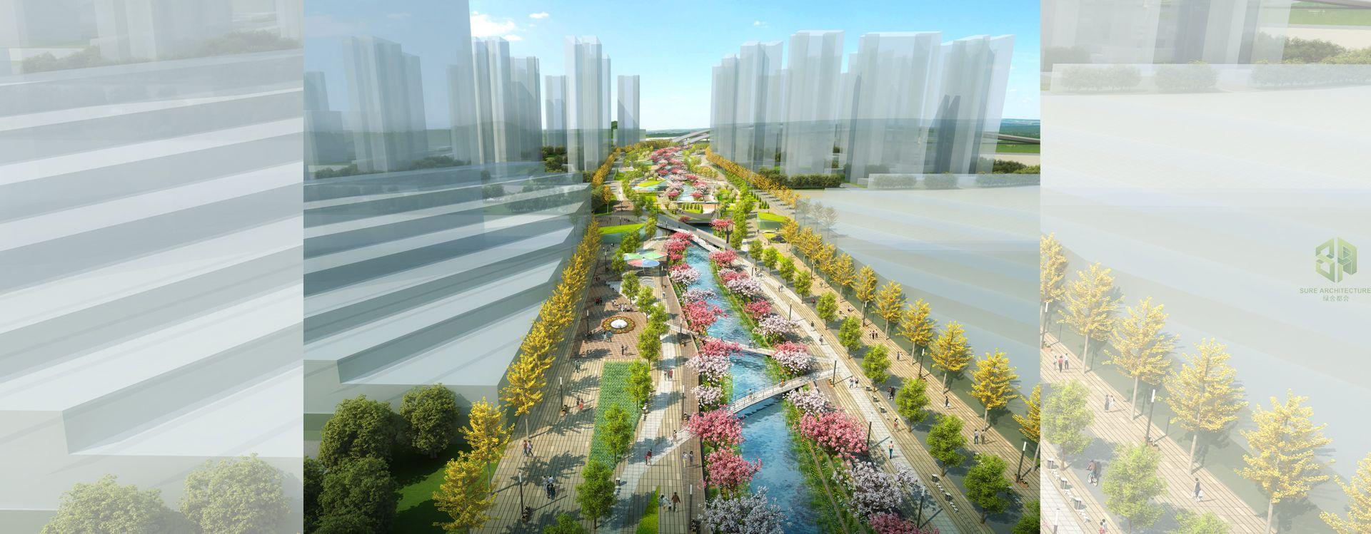 Kai Tak River Landscape Design - Masterplan & Urban Design - SURE ...